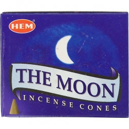 Moon Hem Incense Cones