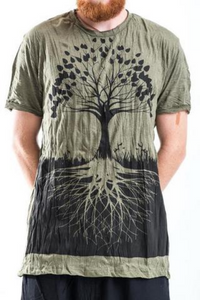 Men's Tree of Life T-Shirt, Green