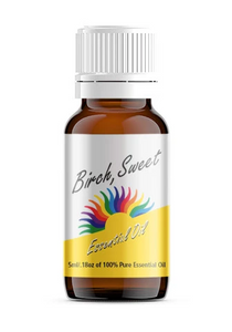 Sweet Birch Essential Oil, 100% Pure