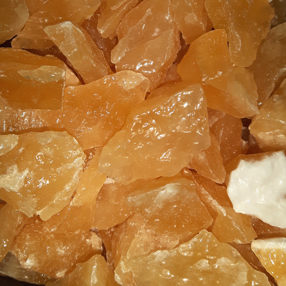 Orange Calcite, Rough
