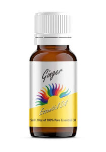 Ginger Essential Oil, 100% Pure