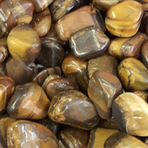 Tiger Eye, Tumbled
