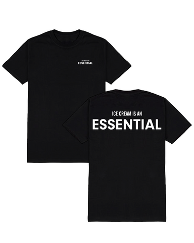 "PRE-SALE ""Ice Cream is an Essential"" Tee"