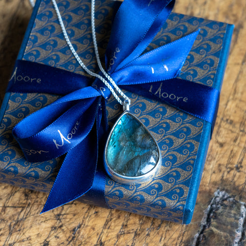 Alison Moore pendant and gift box