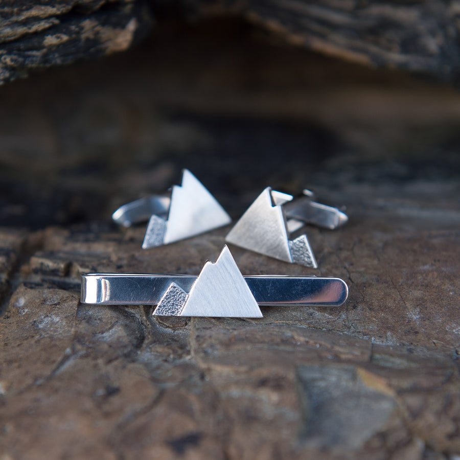 Contour Mountain Tie Slide