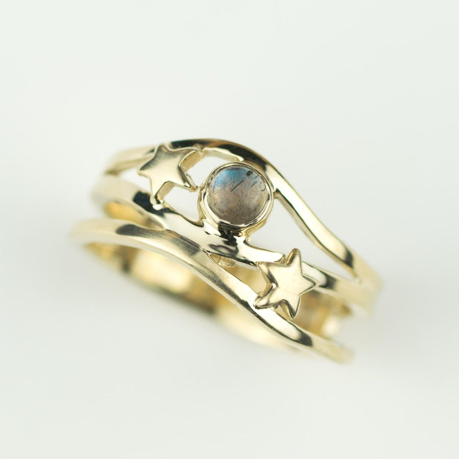 Gold Northern Lights Ring