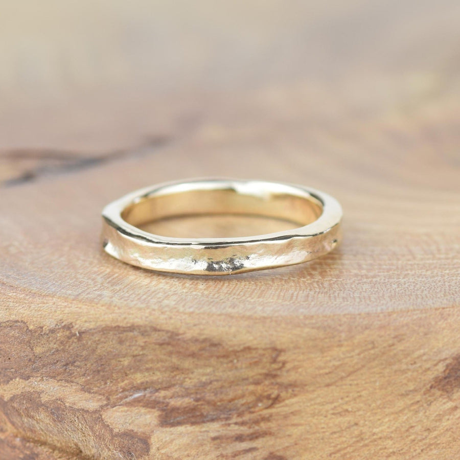 Plain 3mm Gold Storybook Band