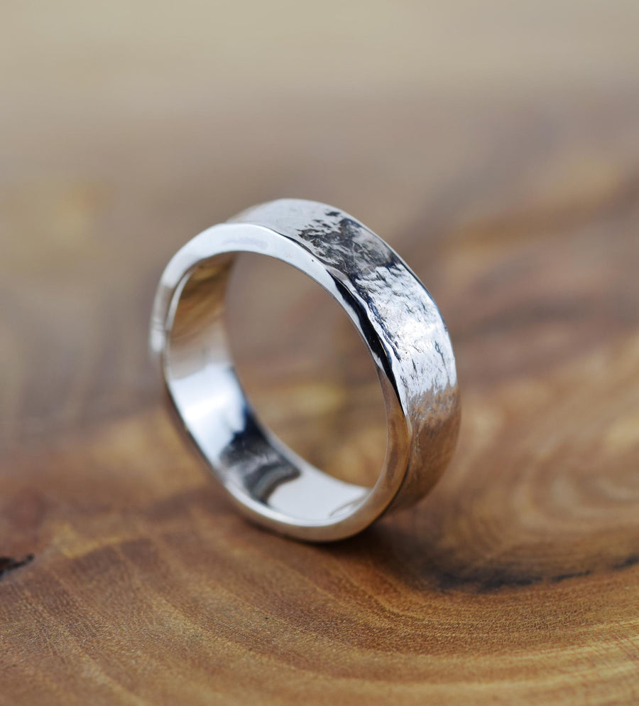 Plain 6mm Silver Storybook band