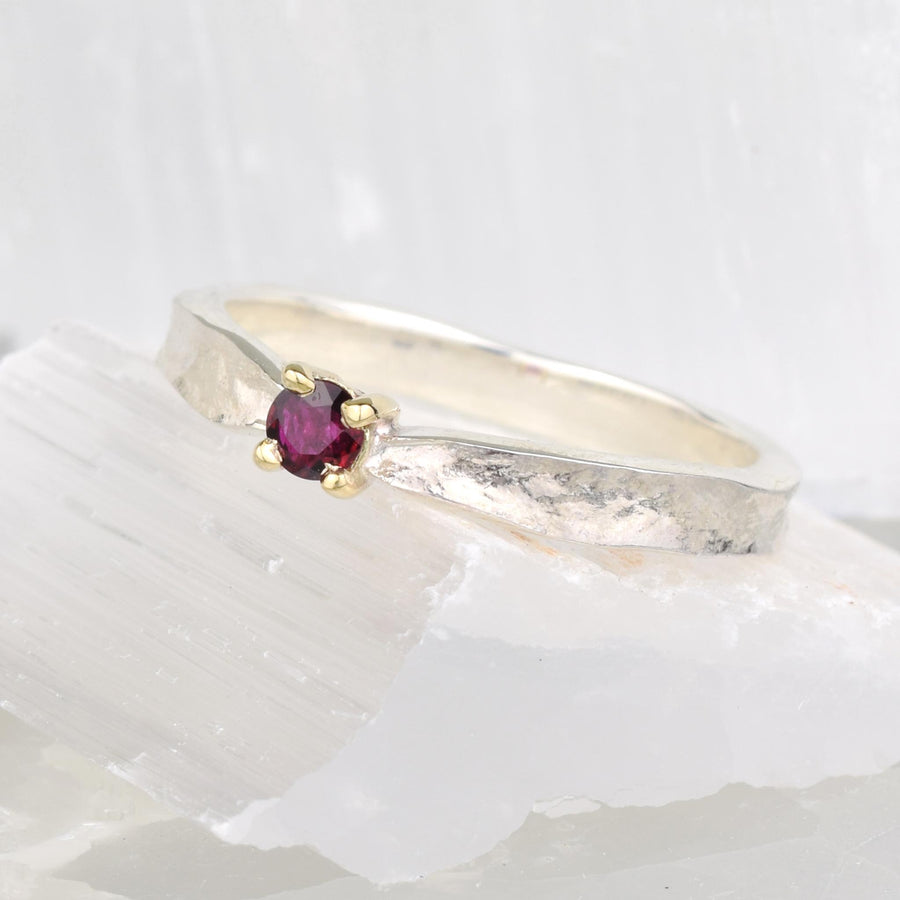 Ruby Thumbelina July Birthstone Ring