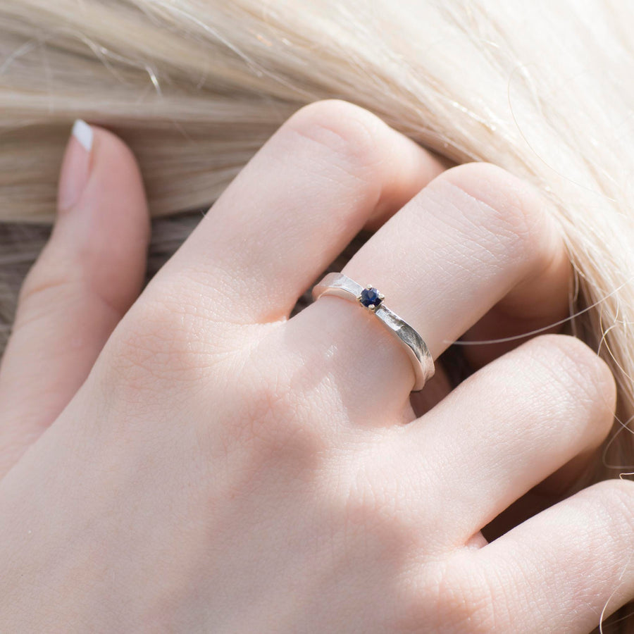 Moonstone Thumbelina June Birthstone Ring