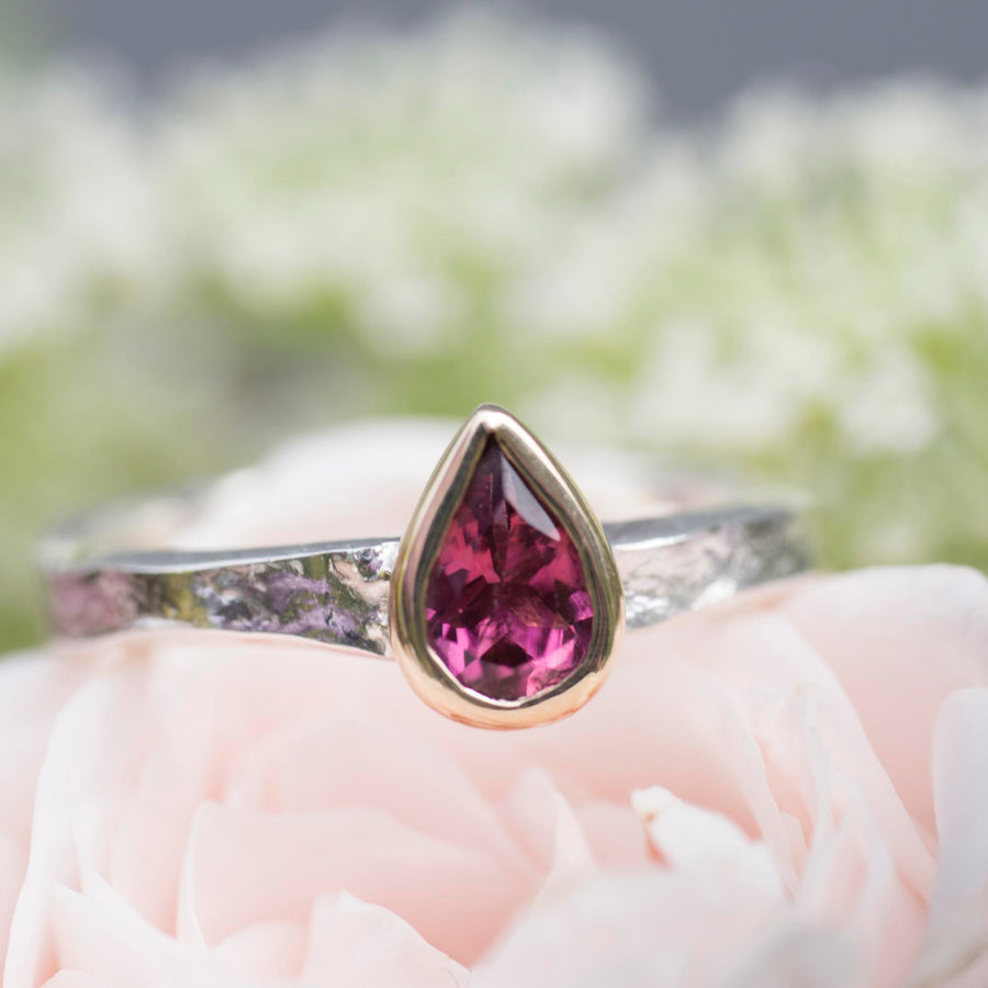 Pink Tourmaline Alice Ring