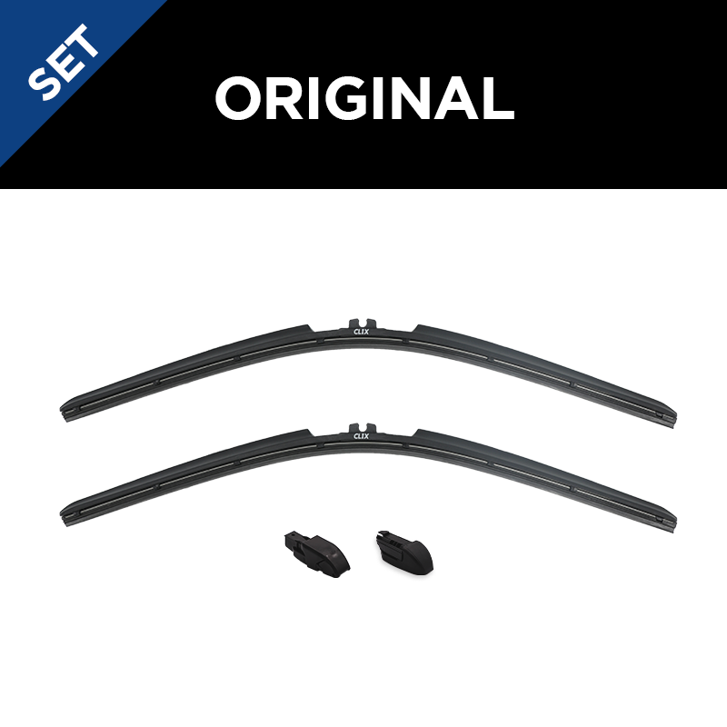 Toyota C-HR Set of 2 Windshield Wiper Blades (All Types/All Models)
