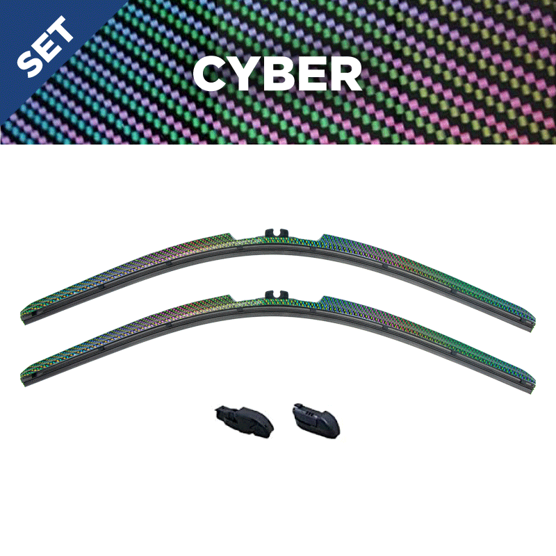 CLIX Cyber Precison-Fit Two Pack Click-on Wiper Blades - 26