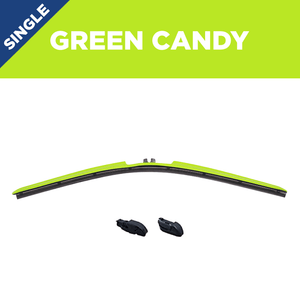 "22"" CLIX Green Candy WIper Blade X3 CLip"