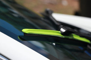 "CLIX Green Candy Precison Fit Click-on Wiper Blades - 22"" 18"""