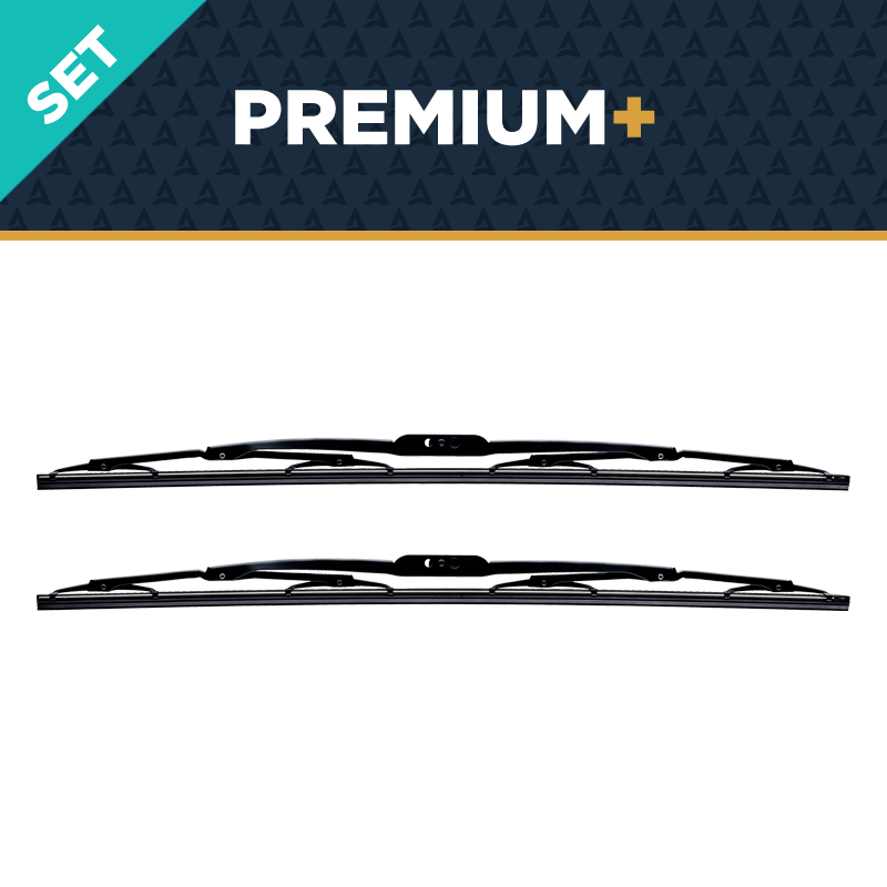 Premium Windshield Wiper Blade, 2 Pack, 18