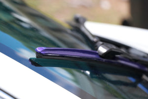 "CLIX Purple Candy Precison Fit Click-on Wiper Blades - 24"" 18"""
