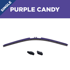 "22"" CLIX Purple Candy WIper Blade X3 CLip"