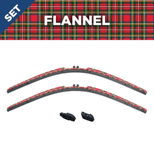 "Load image into Gallery viewer, CLIX Flannel Precison Fit Two Pack - 26"" 16"" I"