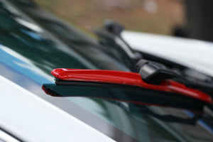 "CLIX Red Candy Precison-Fit Two Pack Click-on Wiper Blades - 22"" 18"" - Fit Small Top Button Wiper Arms"