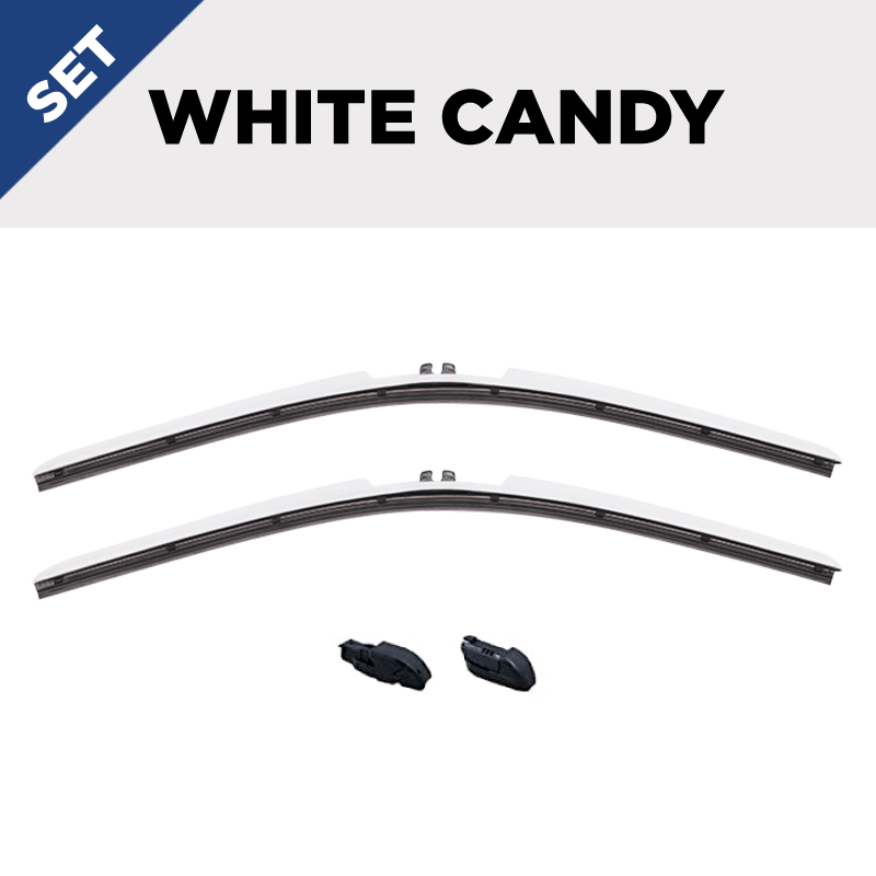 CLIX White Candy Precison Fit Click-on Wiper Blades - 24
