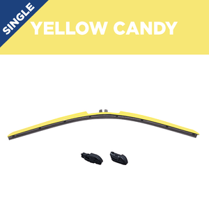"18"" CLIX Yellow Candy WIper Blade X3 CLip"