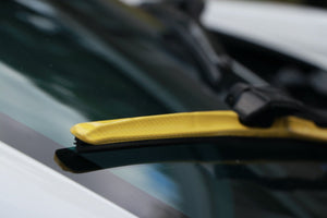 "CLIX Yellow Carbon Precison Fit Click-on Wiper Blades - 20"" 18"""