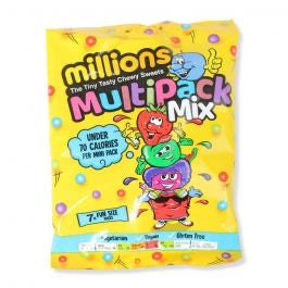 Millions Multipack Mix Bag 115g