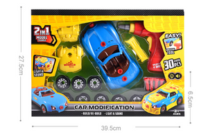 Racing Car Drill Set For Kids