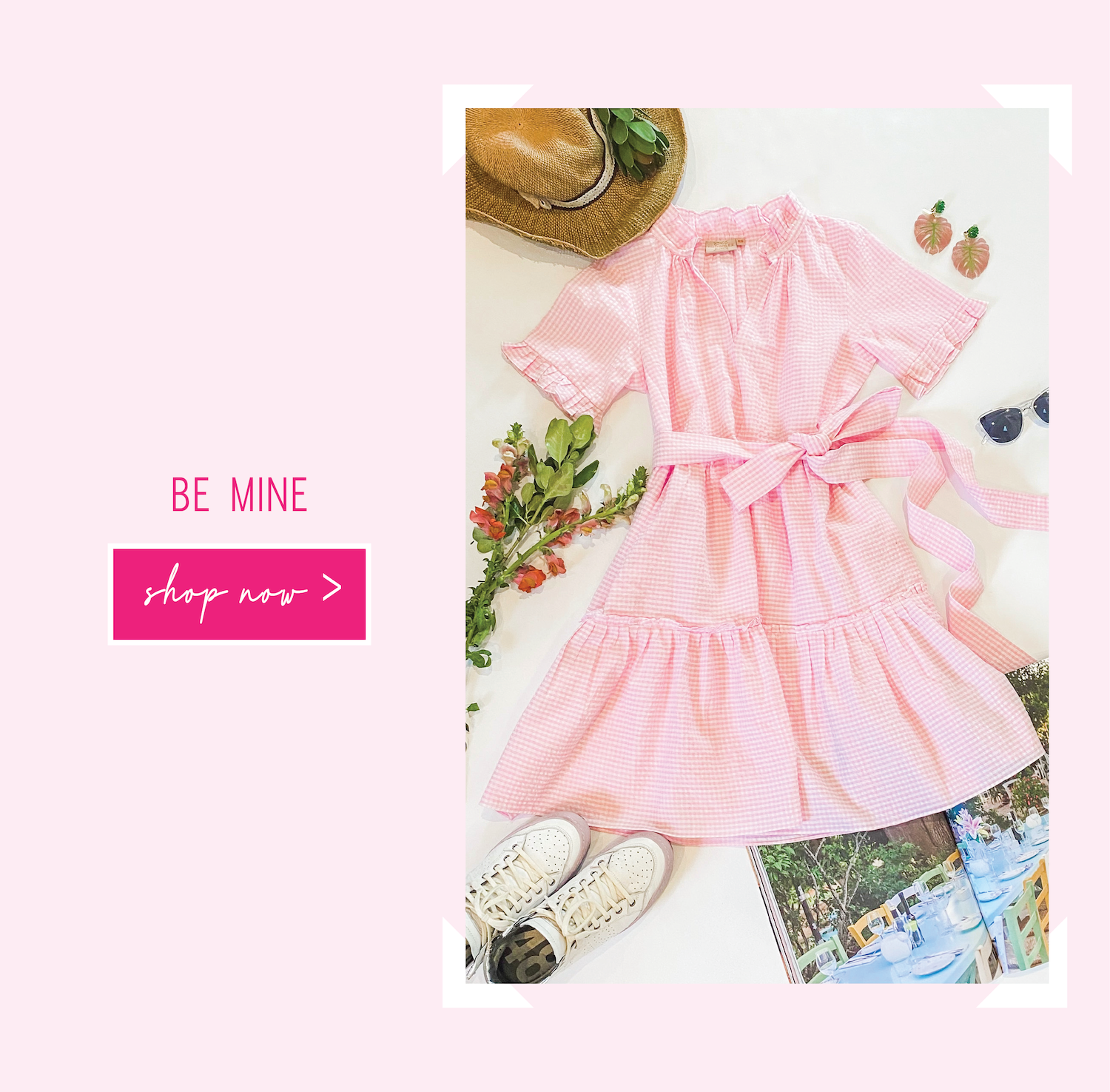 """The perfect Rungolee dress that says """"Be Mine"""" on Valentine's Day"""