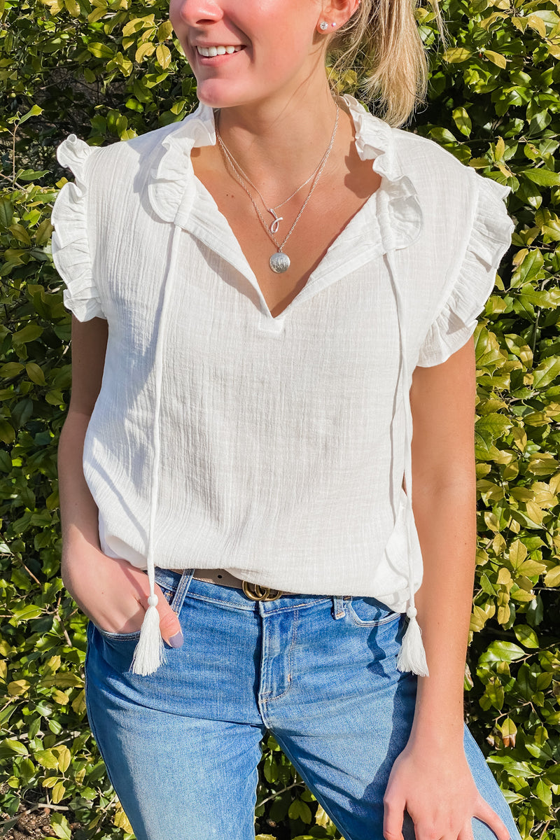 Francesca cotton blouse