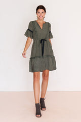 Mallorca Short Sleeve Dress