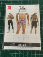 Jalie 3885 underwear and long johns sewing pattern for children (2-13 years) and adults (XS-3XL)