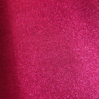 Pink glitter coated cotton fabric for homewares and decor (per half metre)