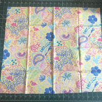 Floral patterned fat quarter (quilting cotton)