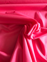 Cerise hot pink cotton sateen lawn woven fabric (per half metre)