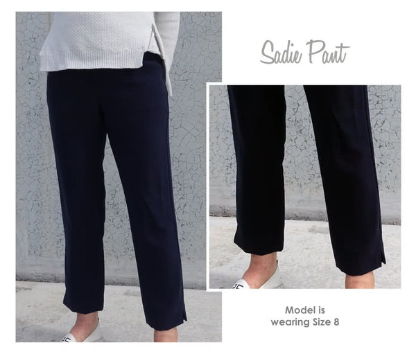 Style Arc Sadie woven trousers sewing pattern (US 18-30)