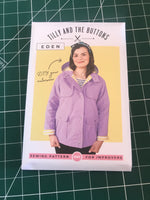 Tilly and the Buttons Eden coat/jacket sewing pattern (UK sizes 6-20)