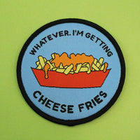 Mean Girls cheese fries iron on patch