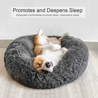 Pet Bed Ultra Soft Calming  -  Pets of All Sizes