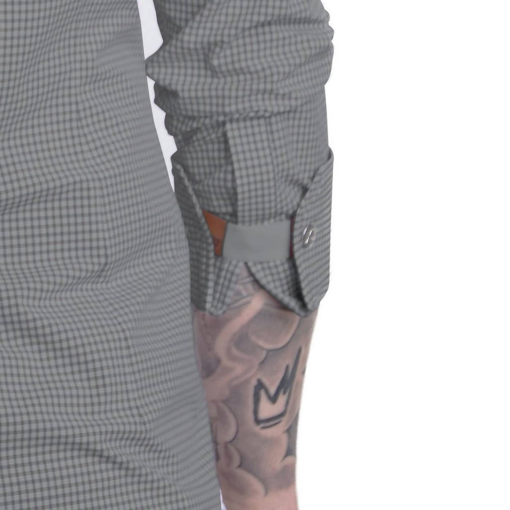 Fifties Men's Sleeve Cuff - Grey