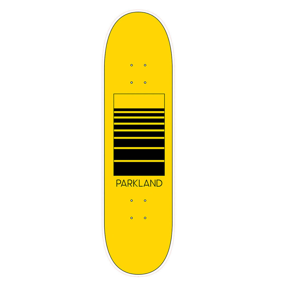 Originals Collection Skateboard- Blank Spaced - Yellow