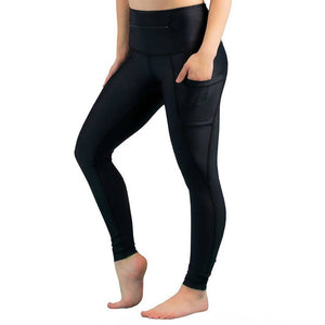 Load image into Gallery viewer, 5-Pocket Dart Legging - Black