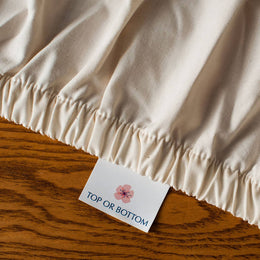 American Made Cotton Crib Sheets Organic - Natural