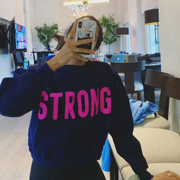 Strong Cropped Sweatshirt