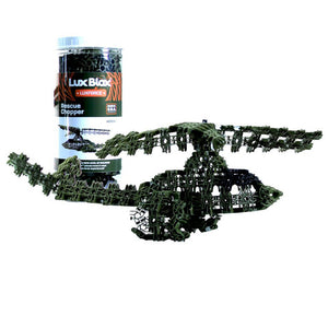 Load image into Gallery viewer, Lux Force Rescue Chopper Building Kit - Olive