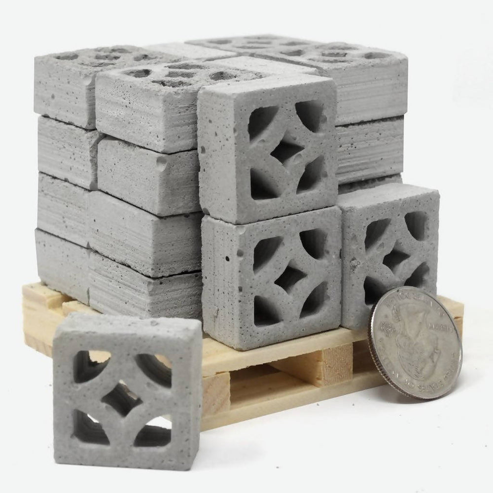 Mini Breeze Block Empress Pallet - 24 Pack