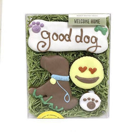 Welcome Home Unisex Dog Treat Box - 4 treats