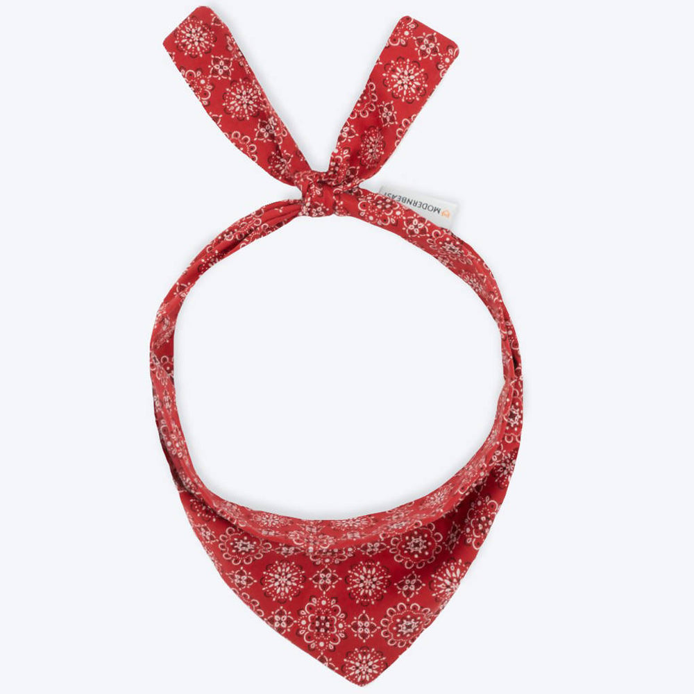 Load image into Gallery viewer, CLASSIC RED BANDANA