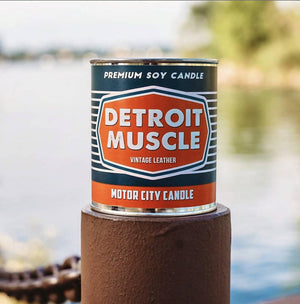 Load image into Gallery viewer, Detroit Muscle 100% Soy Candle - 13 oz
